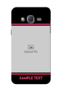 Samsung J5 (2015) Photo With Text Mobile Case Design