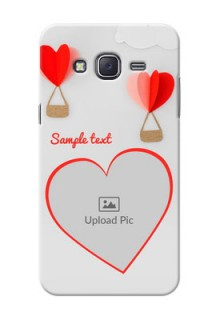 Samsung J5 (2015) Love Abstract Mobile Case Design