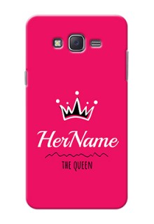 Galaxy J7 (2015) Queen Phone Case with Name