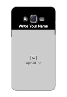 Galaxy J7 (2015) Photo with Name on Phone Case
