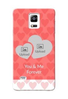 samsung Note4 (2015) Couples Picture Upload Mobile Cover Design