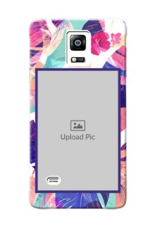 samsung Note4 (2015) abstract floral Design