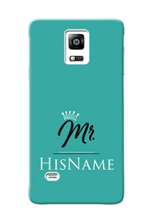 Galaxy Note4 (2015) Custom Phone Case Mr with Name