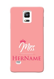 Galaxy Note4 (2015) Custom Phone Case Mrs with Name