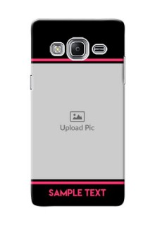 Samsung Z3 Photo With Text Mobile Case Design
