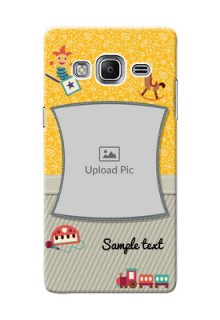 Samsung Z3 Baby Picture Upload Mobile Cover Design