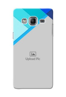 Samsung Z3 Blue Abstract Mobile Cover Design