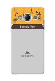 Samsung Z3 my family design with hanging icons Design Design