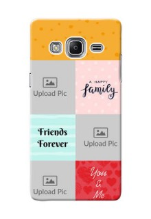 Samsung Z3 4 image holder with multiple quotations Design