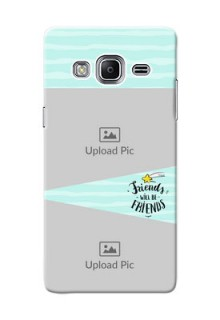 Samsung Z3 2 image holder with friends icon Design
