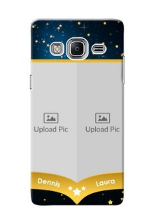 Samsung Z3 2 image holder with galaxy backdrop and stars  Design