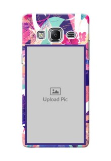 Samsung Z3 abstract floral Design