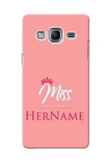 Galaxy Z3 Custom Phone Case Mrs with Name