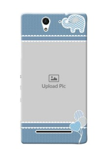 Sony Xperia C3 kids design icons with  simple pattern Design Design
