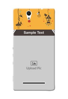 Sony Xperia C3 my family design with hanging icons Design Design
