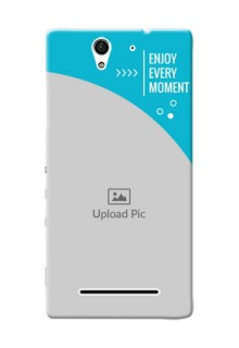 Sony Xperia C3 enjoy every moment Design