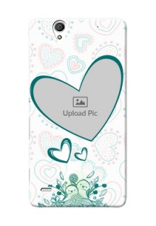 Sony Xperia C4 Couples Picture Upload Mobile Case Design