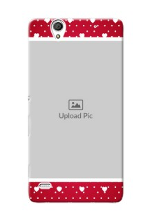 Sony Xperia C4 Beautiful Hearts Mobile Case Design