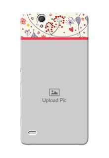 Sony Xperia C4 Premium Mobile Back Case Cover Design