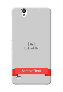 Sony Xperia C4 Simple Mobile Case Design