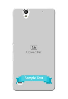 Sony Xperia C4 Simple Mobile Back Cover Design