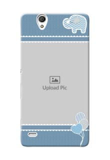 Sony Xperia C4 kids design icons with  simple pattern Design Design