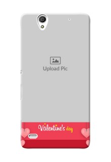 Sony Xperia C4 valentines day couple Design