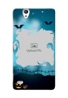 Sony Xperia C4 halloween design with designer frame Design