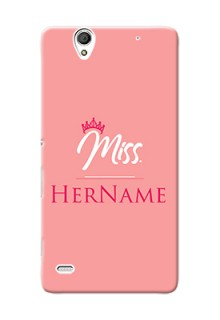 Xperia C4 Custom Phone Case Mrs with Name