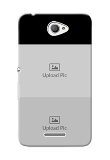 Xperia E4 123 Images on Phone Cover