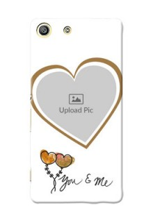 Sony Xperia M5 Dual You And Me Mobile Back Case Design
