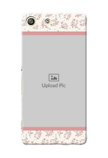 Sony Xperia M5 Dual Floral Design Mobile Back Cover Design