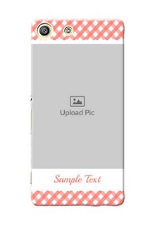 Sony Xperia M5 Dual Pink Pattern Mobile Case Design