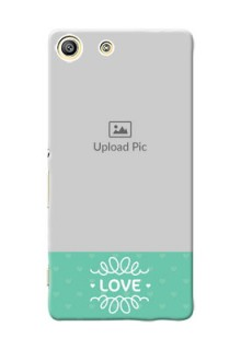 Sony Xperia M5 Dual Lovers Picture Upload Mobile Cover Design