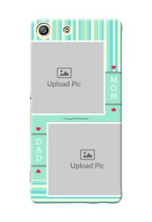 Sony Xperia M5 Dual mom and dad image holder Design