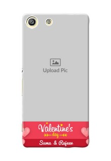 Sony Xperia M5 Dual valentines day couple Design