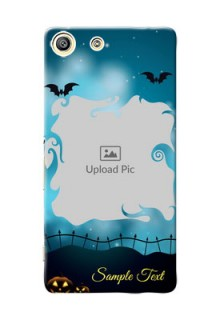 Sony Xperia M5 Dual halloween design with designer frame Design