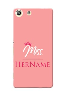 Xperia M5 Dual Custom Phone Case Mrs with Name