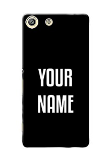 Xperia M5 Dual Your Name on Phone Case
