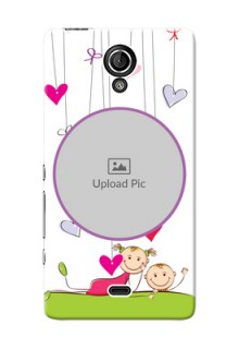 Sony Xperia T (LT30p) Cute Babies Mobile Cover  Design