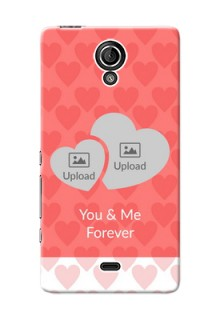 Sony Xperia T (LT30p) Couples Picture Upload Mobile Cover Design