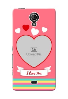 Sony Xperia T (LT30p) I Love You Mobile Cover Design