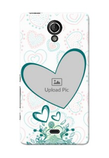 Sony Xperia T (LT30p) Couples Picture Upload Mobile Case Design
