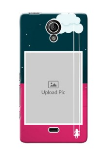 Sony Xperia T (LT30p) Cute Girl Abstract Mobile Case Design