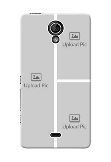 Sony Xperia T (LT30p) Multiple Picture Upload Mobile Cover Design