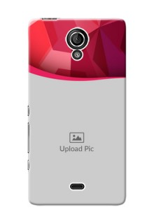 Sony Xperia T (LT30p) Red Abstract Mobile Case Design