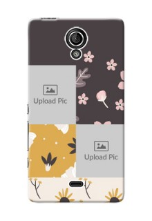 Sony Xperia T (LT30p) 3 image holder with florals Design