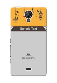 Sony Xperia T (LT30p) my family design with hanging icons Design Design