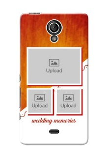 Sony Xperia T LTE (LT30a) Wedding Memories Mobile Cover Design