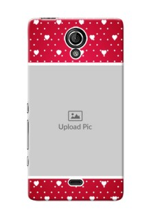 Sony Xperia T LTE (LT30a) Beautiful Hearts Mobile Case Design